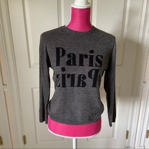 NWOT Topshop Paris sweater
